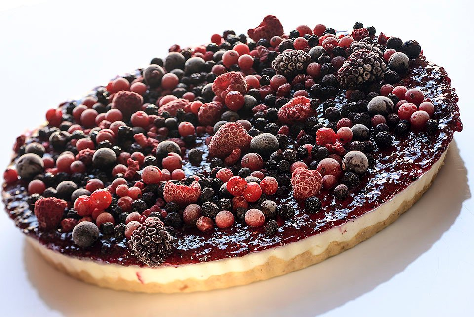 Cheesecake de Frutos Silvestres